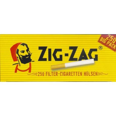 Zig Zag 250 Zigarettenhülsen