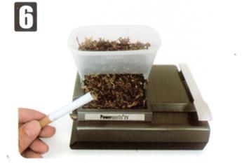 Zigarette Fertig