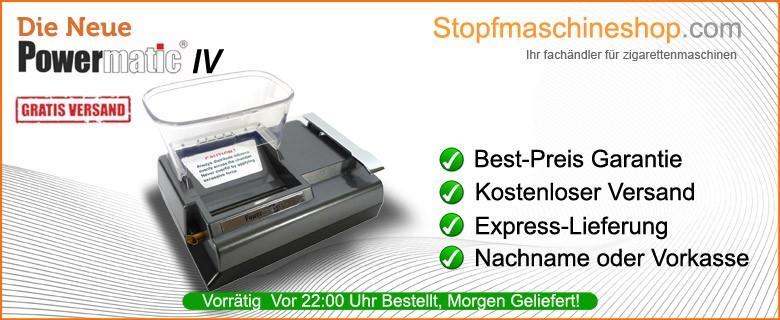 Zorr Powermatic 4 Elektrische Stopfmaschine fur Zigaretten